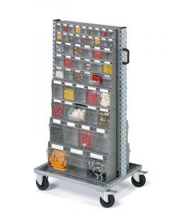 CFLBB07354 - CARRELLO UNIMOD SERIE SMART 073 CON RUOTE CON PRACTIBOX